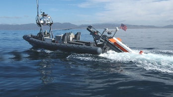 Advanced Navy undersea sonar and laser sensor finds enemy mines fast