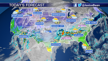 National forecast for Monday, February 10: Strong storm brings flood watches, warnings
