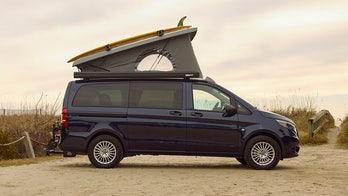 Chicago Auto Show: 2020 Mercedes-Benz Weekender camper van sleeps 4