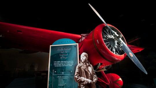 Pictures: Amelia Earhart's Lockheed 5B Vega plane