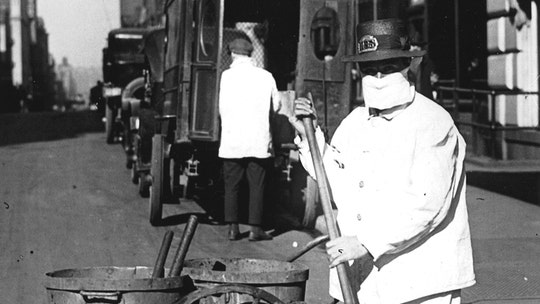 Rebecca Grant: Pence's coronavirus task force should take these lessons from NYC's 1918 Spanish flu response