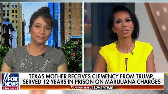 Texas mother who had prison sentence commuted by Trump wants to give president a 'huge hug'