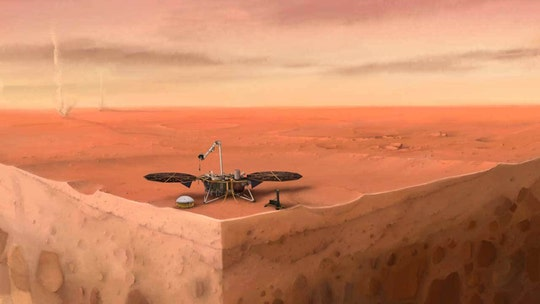 Mars earthquakes detected for the first time