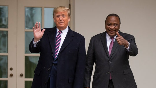 Trump says first-of-its-kind Kenya trade deal 'probably' will happen
