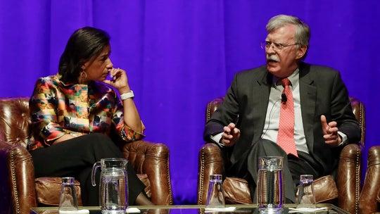John Bolton pressed by Susan Rice on impeachment testimony at Vanderbilt event