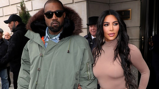 Kim Kardashian laughs with Kanye West in family video following reports of marital struggles