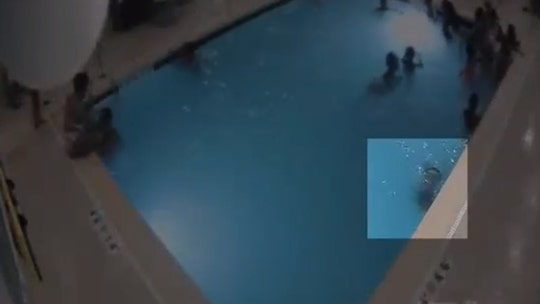 Michigan police hail 'heroic individuals' after toddler saved from drowning in hotel pool