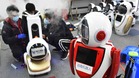 Coronavirus-battling robots deployed to help fight deadly outbreak in China