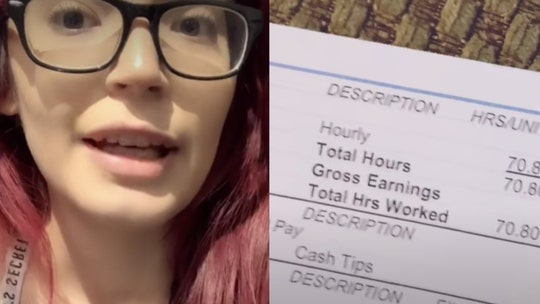Bartender posts TikTok video of $9.28 paycheck to highlight importance of tipping