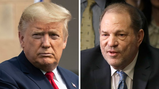 Trump says he 'never liked' Harvey Weinstein, who wanted to 'defeat me in the election'
