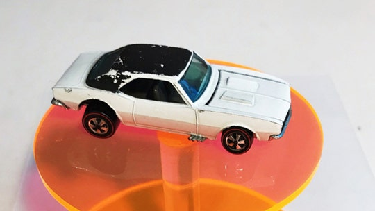 Rare Hot Wheels Chevrolet Camaro found that could be worth over $100,000
