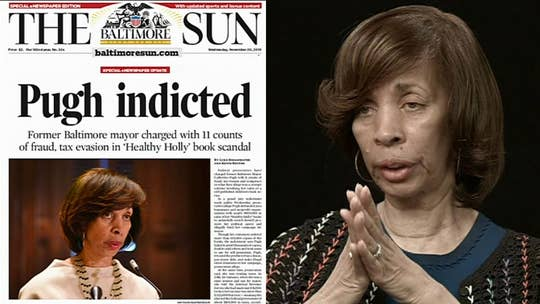 Ex-Baltimore Mayor Catherine Pugh sentenced for book sales scheme