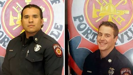 California library fire that killed 2 firefighters leads to arrest of 2 teens on arson, manslaughter charges