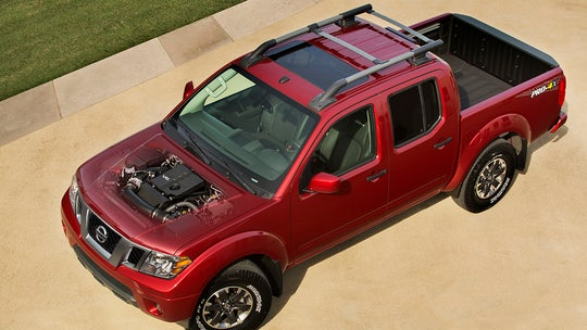 Chicago Auto Show: Nissan Frontier gets new V6 ahead of full redesign next year