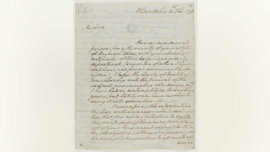 George Washington letter to Scottish nobleman discovered