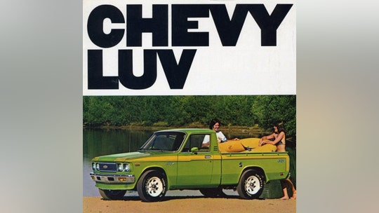 What's the most romantic vehicle? Probably not the Chevrolet LUV
