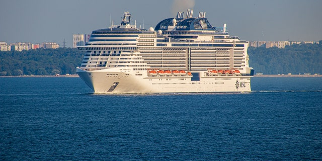 MSC Cruises' MSCMeraviglia ship wasturned away from two ports in the Caribbeanon Tuesday amid concerns that an ill crew member might be sick with the coronavirus.