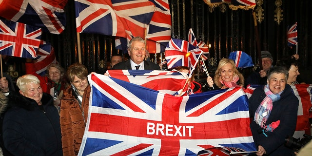 Westlake Legal Group AP-Brexit-Day-3 Brexit prompts rowdy London parties, quiet Scottish vigils and protesters demanding public housing residents 'speak English' fox news fnc/world fnc Danielle Wallace article a4eb7020-3bbb-5d22-9bca-97dce8a20c16