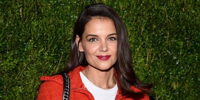 Katie Holmes attends the Through Her Lens: Tribeca Chanel Women's Filmmaker Program Luncheon at Locanda Verde