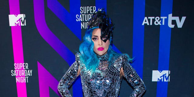 Lady Gaga attends theAT&T TV Super Saturday Nightat Meridian on Island Gardens in Miami on Saturday, Feb. 1, 2020, in Miami , Fla. (Photo by Scott Roth/Invision/AP)