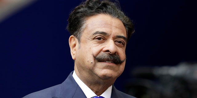 FILE - This file Sept. 24, 2017 file photo shows Shad Khan at Wembley Stadium in London. (AP)