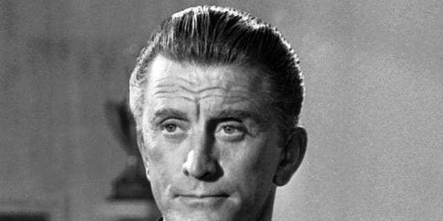 Kirk Douglas, seen here in 1962, gained stardom during Hollywood's Golden Age.