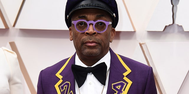 Spike Lee arrives at the Oscars on Sunday, Feb. 9, 2020, at the Dolby Theatre in Los Angeles. (Photo by Jordan Strauss/Invision/AP)