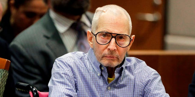 Robert Durst sitting in a courtroom in Los Angeles in December 2016. (AP Photo/Jae C. Hong, Pool, File)