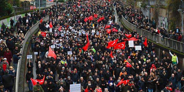 Westlake Legal Group AP20054565268365-1 Thousands mourn victims of Germany shooting massacre with massive march fox-news/world/world-regions/germany fox-news/world/world-regions/europe fox-news/world/crime fox-news/us/crime/mass-murder fox news fnc/world fnc Bradford Betz article 0f4f9870-3d45-519c-ada2-f8dbd8309494
