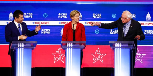 Celebrities took to Twitter to comment on the 2020 candidates' performance at the South Carolina debate.