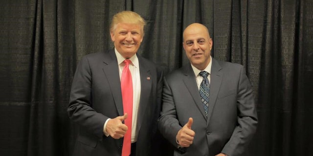 Amer Fakhoury is a faithful supporter of President Trump, is active in the New Hampshire Republican Party, and even attended a campaign event where he was snapped in a photo with the president, giving a thumbs-up