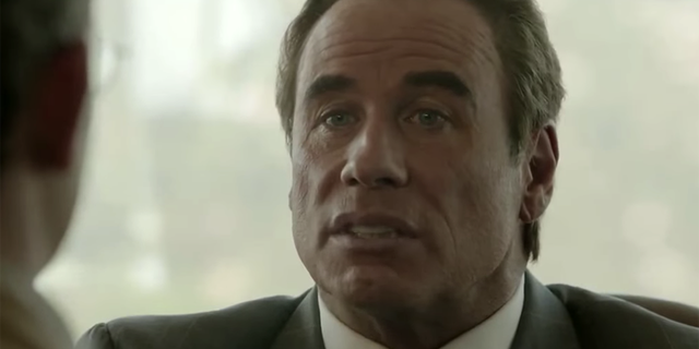 John Travolta returned to TV in a more dramatic role, playing Robert Shapiro in 'American Crime Story: The People v. O.J. Simpson.'