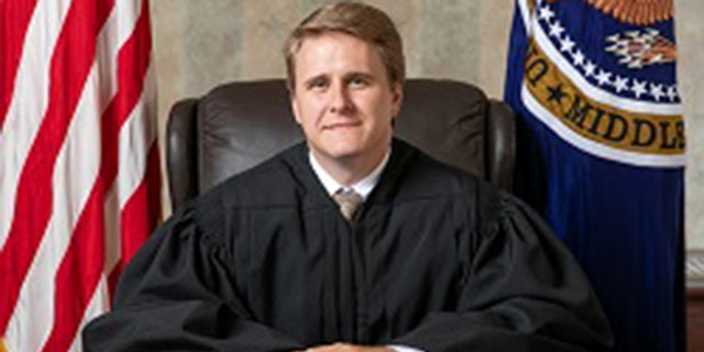 Judge Andrew Brasher in his official photo as a judge on the U.S. District Court for the Middle District of Alabama. (almd.uscourts.gov)