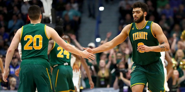 Vermont and Anthony Lamb won the conference tournament in 2019. (Photo by Maddie Meyer/Getty Images)