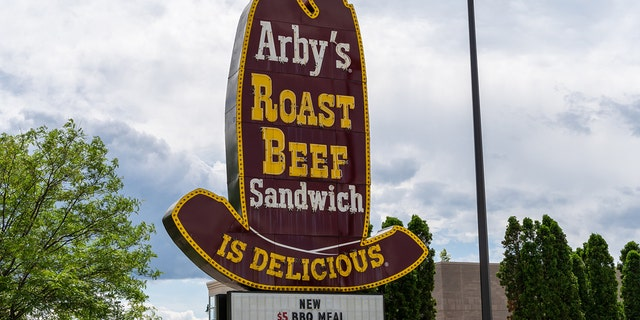 """The first Arby's opened in 1964 with only one item on the menu: A roast beef sandwich and """"no french fries,"""" according to co-founder Leroy Raffel."""