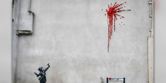 Bansky confirms Bristol Valentine's Day artwork is his