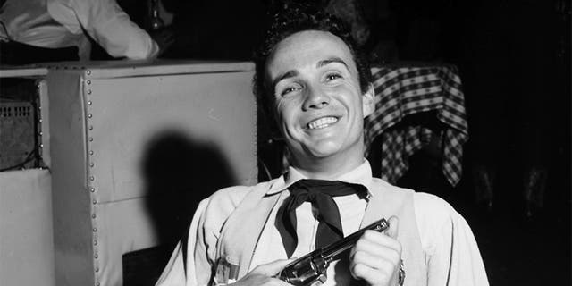 Actor Ben Cooper attends a Boomtown party on May 20, 1956, at Ciro's in Los Angeles, Calif. (Photo by Earl Leaf/Michael Ochs Archives/Getty Images)