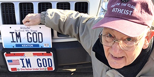 "Ben Hart, who moved from Ohio to Kentucky, and was rejected a personalized ""IM GOD"" license plate, won the case in November and a federal judge ordered the state to pay over $150,000 in legal fees."