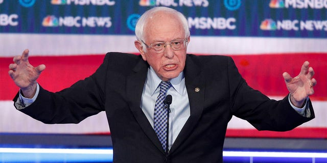 Westlake Legal Group Bernie-Sanders-Dem-Debate-AP Victor Davis Hanson: 2020 presidential race will 'split' the Dems in a way the Republicans have never fractured Julia Musto fox-news/world/world-regions/china fox-news/us/us-regions/west/nevada fox-news/us/us-regions/northeast/vermont fox-news/us/us-regions/northeast/new-hampshire fox-news/us/us-regions/northeast/massachusetts fox-news/us/us-regions/midwest/minnesota fox-news/us/us-regions/midwest/iowa fox-news/us/us-regions/midwest/indiana fox-news/us/energy fox-news/us/education/college fox-news/us/economy/taxes fox-news/travel/vacation-destinations/new-york-city fox-news/topic/fox-news-radio fox-news/special/sponsored/reagan fox-news/politics/the-clintons fox-news/politics/socialism fox-news/politics/judiciary/supreme-court fox-news/politics/elections/republicans fox-news/politics/elections/presidential-debate fox-news/politics/elections/polls fox-news/politics/elections/democrats fox-news/politics/elections fox-news/politics/2020-presidential-election fox-news/person/pete-buttigieg fox-news/person/michael-bloomberg fox-news/person/elizabeth-warren fox-news/person/bernie-sanders fox-news/person/barack-obama fox-news/person/amy-klobuchar fox-news/media/fox-news-flash fox-news/health fox news fnc/media fnc c1d92d17-81bf-53f3-ba2e-3f919f28f983 article