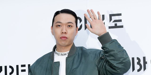 BewhY arrives at the photocall for 'BYREDO' on Nov. 1, 2019 in Seoul, South Korea. (Photo by Han Myung-Gu/WireImage)