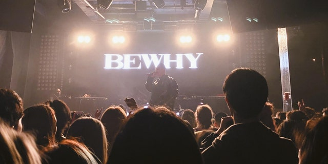 """BewhY, a South Korean rapper, performs at his last stop on his North American """"The Movie Star 2020 Tour"""" at the Mission in New York City Sunday, February 8 , 2020."""