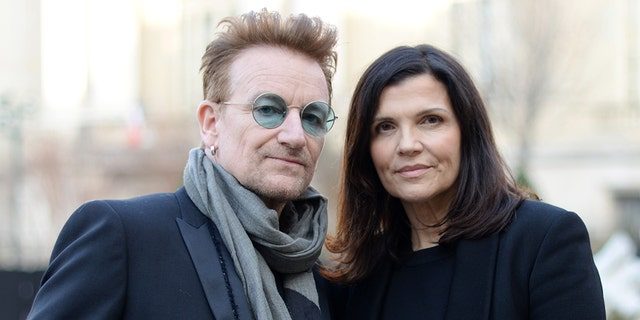 Bono and Ali Hewson have been together for over 30 years.