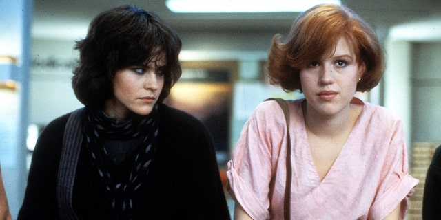 The library set for 'The Breakfast Club' was actually a high school gym.