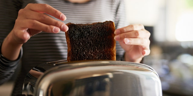 In fairness, some people LIKE their toast this dark.