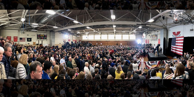 Buttigieg holds largest Dem rally in New Hampshire this election season