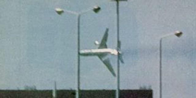 American Airlines Flight 191 was spotted flying sideways before crashing in Chicago on May 25, 1979.