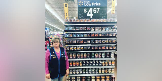 Charlene has received thousands of compliments across all of her photos posted on the Walmart location's Facebook page.