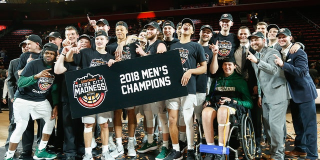 Wright State won the 2018 title. (Photo by Scott W. Grau/Icon Sportswire via Getty Images)