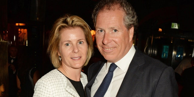Serena Linley and David Linley in 2016. (David M. Benett/Getty Images for Annabel's, File)