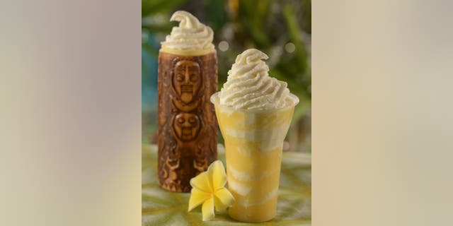 The Dole Whip, seen here sans booze, has long been a popular treat at the Magic Kingdom.